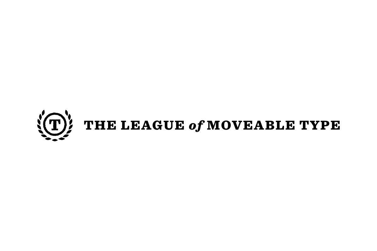 The Leaque of Moveable type