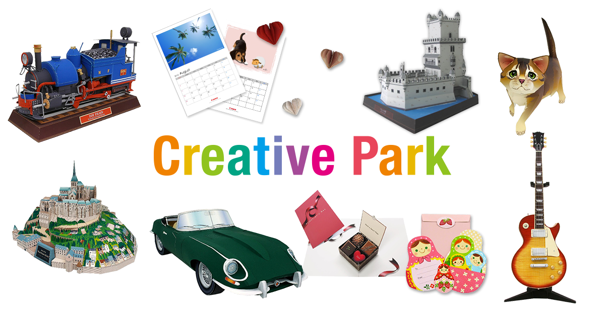 Creative park papiermodellen