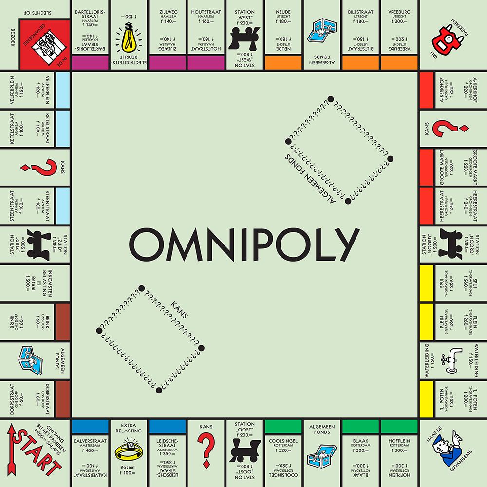 Spelen: Monopoly bordspel printables