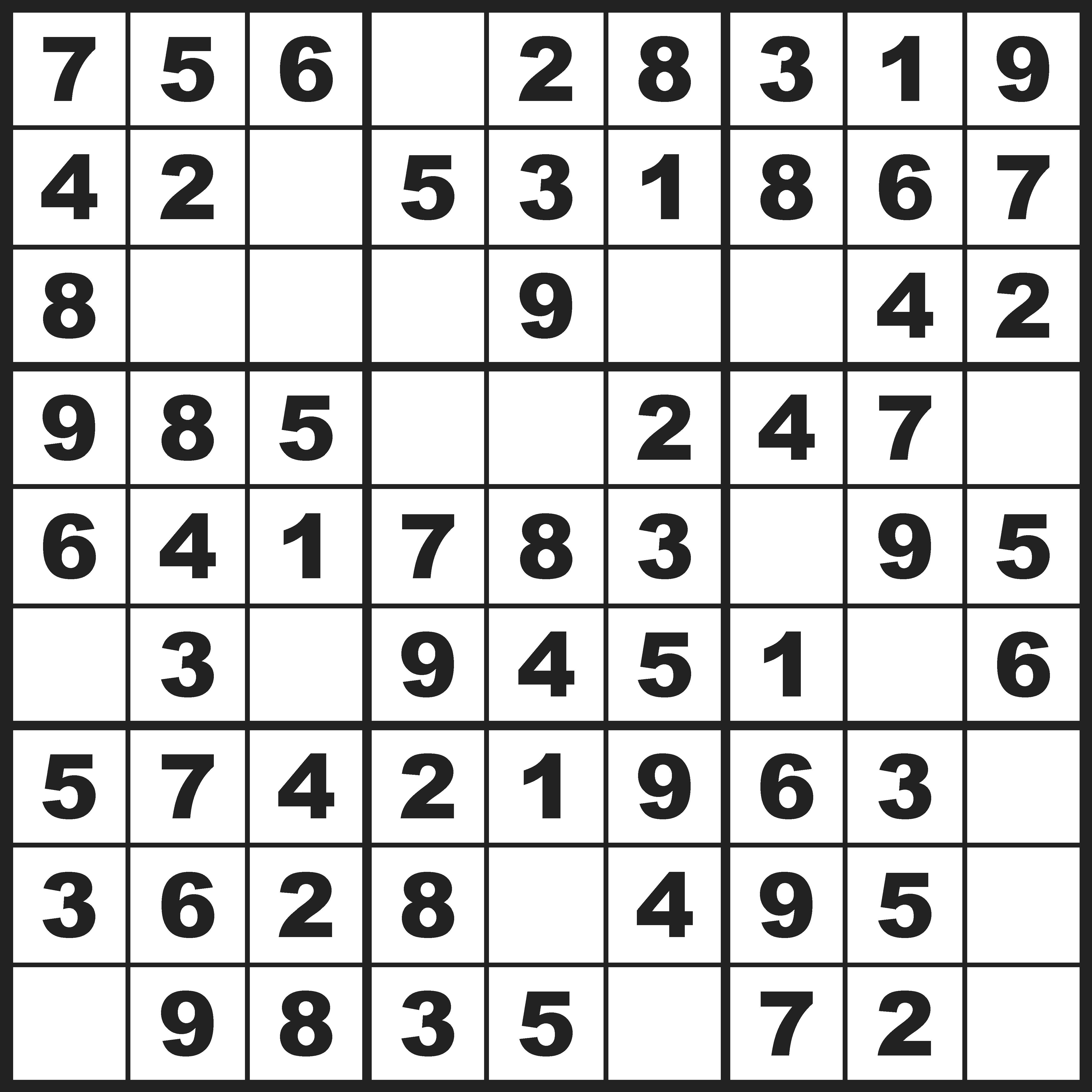 Spelen: 300 Sudoku kaarten