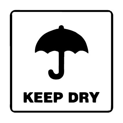 Keep Dry verzend icoon