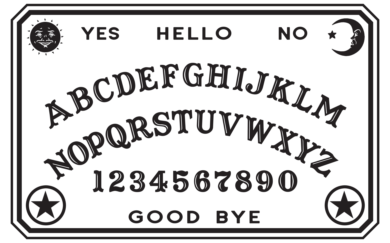 Spelen: Printable Ouija bord
