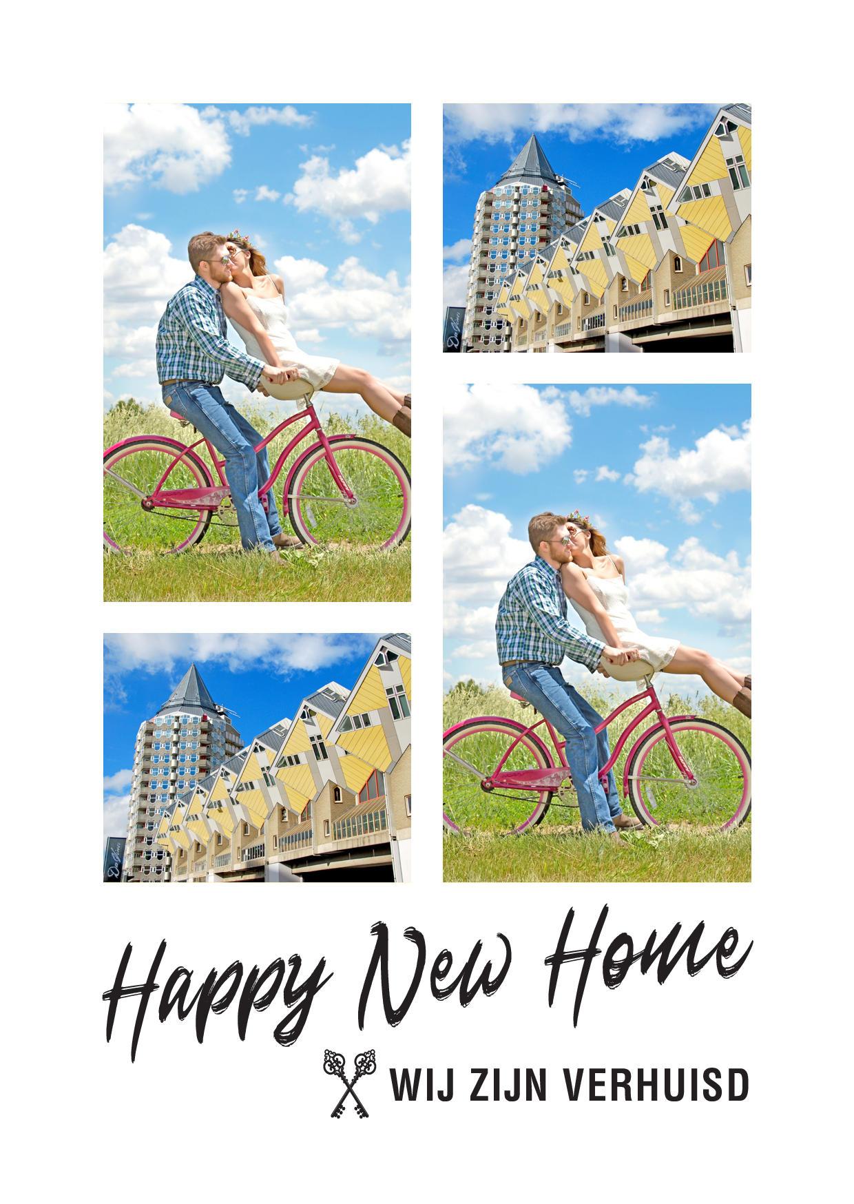 Happy New Home met foto kaders