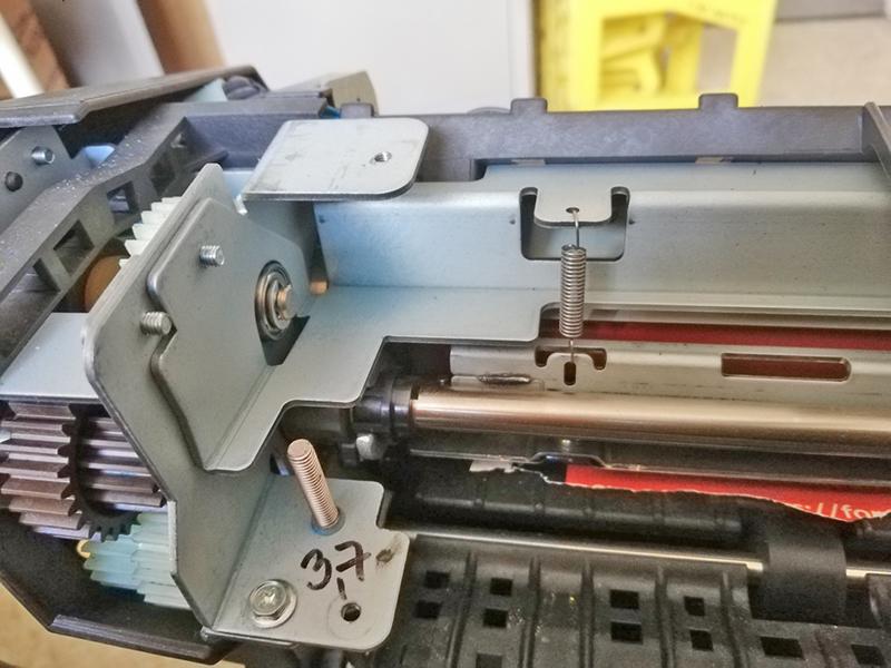 Xerox: Paperjam in Fuser oplossen